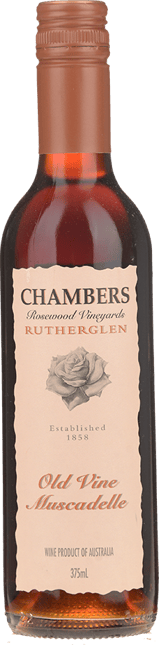 CHAMBERS ROSEWOOD WINERY Old Vine Muscadelle, Rutherglen NV