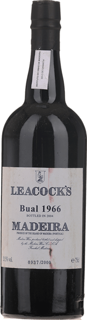 LEACOCK'S Bual, Madeira 1966