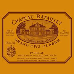 CHATEAU BATAILLEY 5me cru classe, Pauillac 2016
