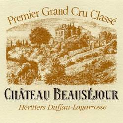 CHATEAU BEAUSEJOUR-DUFFAU-LAGAROSSE, premier grand cru classe, St-Emilion 2014