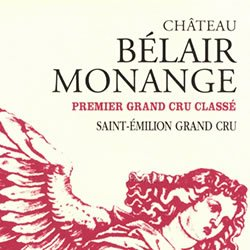 CHATEAU BELAIR-MONANGE 1er grand cru classe (B), St-Emilion 2016
