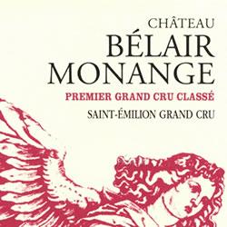 CHATEAU BELAIR-MONANGE, St-Emilion 2014