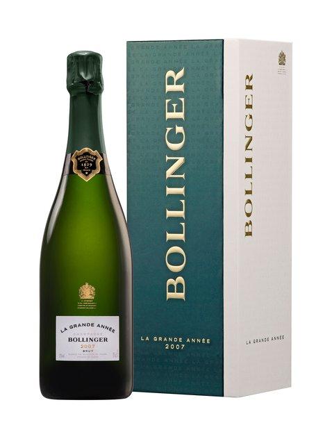 BOLLINGER Grand Annee Brut, Champagne 2007