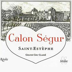 CHATEAU CALON-SEGUR 3me cru classe, St-Estephe 2015
