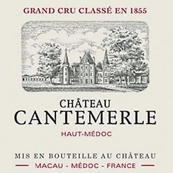 CHATEAU CANTEMERLE 5me cru classe, Haut-Medoc 2014