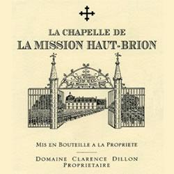 LA CHAPELLE DE LA MISSION HAUT-BRION Second Wine of Chateau La Mission Haut-Brion, Graves 2016