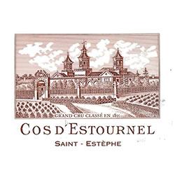 CHATEAU COS D'ESTOURNEL 2me cru classe, St-Estephe 2016