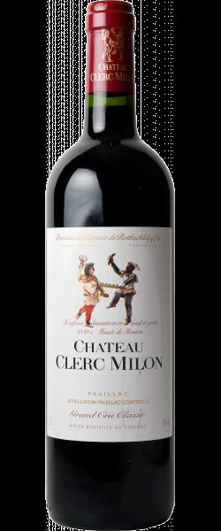 CHATEAU CLERC-MILON-ROTHSCHILD 5me cru classe, Pauillac 2018