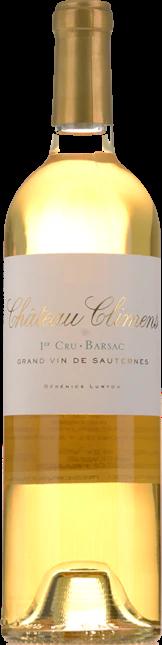 CHATEAU CLIMENS 1er cru classe, Sauternes-Barsac 2016