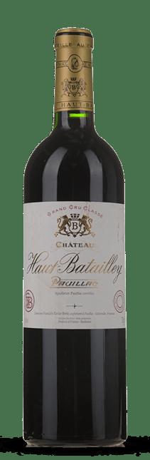 CHATEAU HAUT-BATAILLEY 5me cru classe, Pauillac 2017
