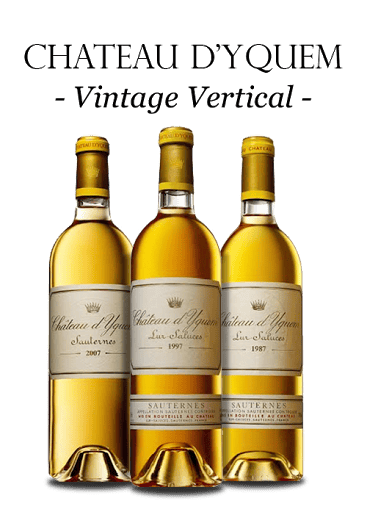 CHATEAU D'YQUEM, 1er Cru Superieur 2007, 1997, 1987 Mixed three-Pack, Sauternes MV MV