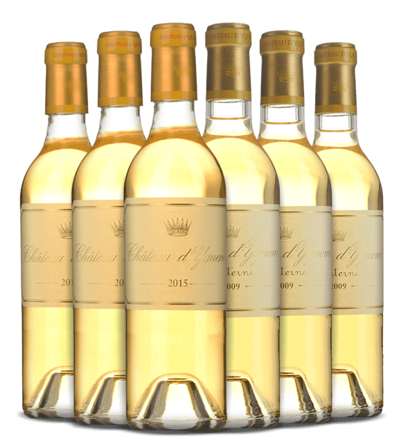CHATEAU D'YQUEM Limited Release 2009 and 2015 Six Pack, Sauternes MV