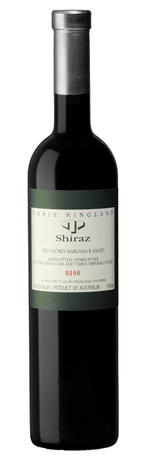 CHRIS RINGLAND Dry Grown Barossa Ranges Shiraz, Barossa 2013