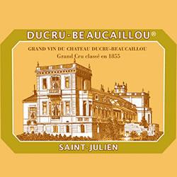 CHATEAU DUCRU-BEAUCAILLOU 2me cru classe, St-Julien 2016