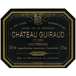 CHATEAU GUIRAUD, 1er cru classe, Sauternes 2014