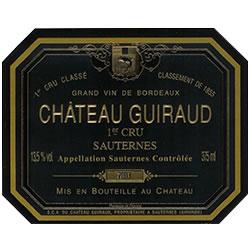 CHATEAU GUIRAUD 1er cru classe, Sauternes 2016