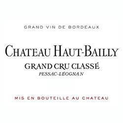 CHATEAU HAUT-BAILLY, cru classe, Pessac-Leognan 2014