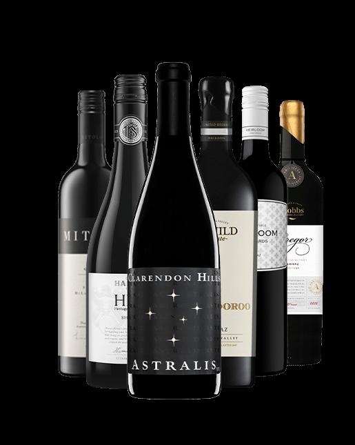 LANGTON'S Halliday Exclusive 6 Bottle Shiraz Pack, Australia MV