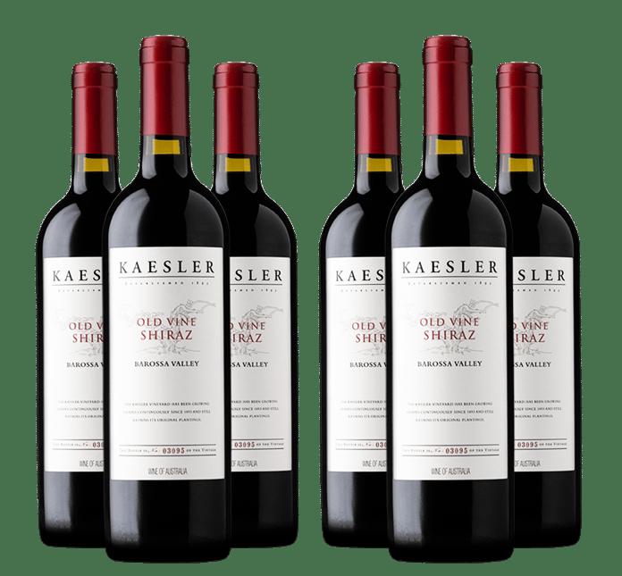 KAESLER WINES Old Vine Shiraz 6 Bottle Vertical Set 2012 - 2017, Barossa Valley MV
