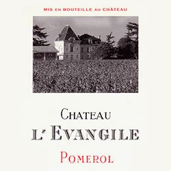 CHATEAU L'EVANGILE, Pomerol 2014