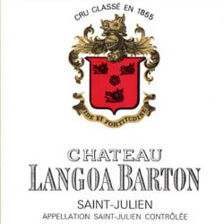 CHATEAU LANGOA-BARTON 3me cru classe, St-Julien 2018