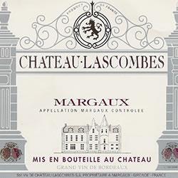 CHATEAU LASCOMBES, 2me cru classe, Margaux 2014