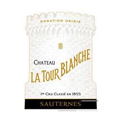 CHATEAU LA TOUR-BLANCHE 1er cru classe, Sauternes 2016