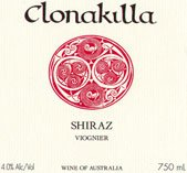 CLONAKILLA Shiraz Viognier, Canberra District 2009