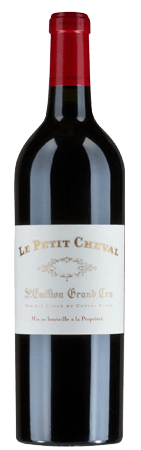LE PETIT CHEVAL Second wine of Chateau Cheval Blanc, St-Emilion 2018