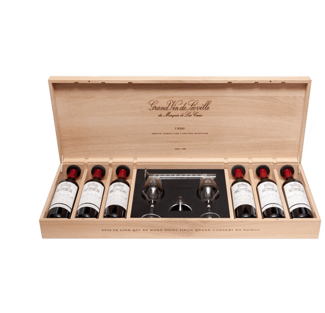 CHATEAU LEOVILLE-LAS-CASES, Saint-Julien, Collector Case 1986