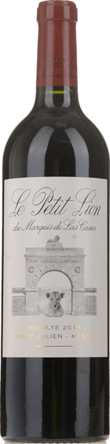 LE PETIT LION du Marquis de Las Cases, Second Wine of Ch. Las-Cases, St-Julien 2018