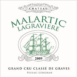 CHATEAU MALARTIC-LAGRAVIERE Blanc Cru classe, Graves 2016