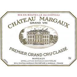 CHATEAU MARGAUX 1er cru classe, Margaux 2016