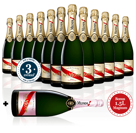LANGTON'S Champagne Celebration Dozen with Bonus Magnum NV