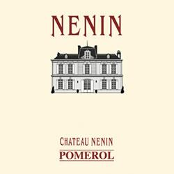 CHATEAU NENIN, Pomerol 2014