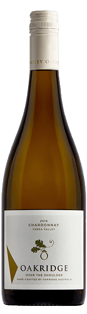 OAKRIDGE ESTATE Over The Shoulder Chardonnay, Yarra Valley 2016