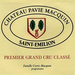 CHATEAU PAVIE-MACQUIN 1er grand cru classe (B), St-Emilion 2016