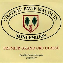 CHATEAU PAVIE-MACQUIN, grand cru classe, St-Emilion 2014