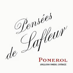 LES PENSEES DE LAFLEUR , second wine of Ch. Lafleur , Pomerol 2016