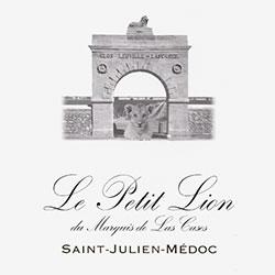 LE PETIT LION du Marquis de Las Cases, Second Wine of Ch. Las-Cases , St-Julien 2016