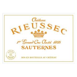 CHATEAU RIEUSSEC 1er cru classe, Sauternes 2016