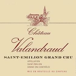 CHATEAU VALANDRAUD 1er grand cru classe (B), St-Emilion 2016