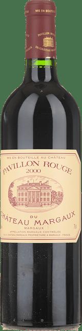 PAVILLON ROUGE DU CHATEAU MARGAUX Second wine of Chateau Margaux, Margaux 2000