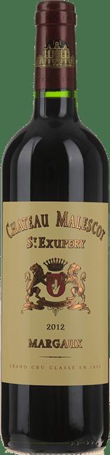 CHATEAU MALESCOT-SAINT-EXUPERY, 3me cru classe, Margaux 2012