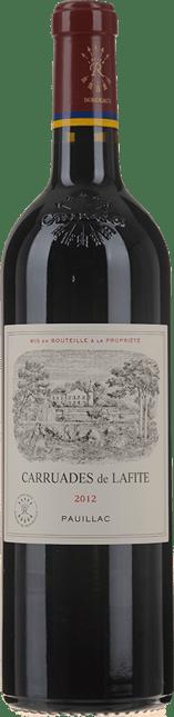 CARRUADES DE LAFITE Second wine of Chateau Lafite, Pauillac 2012