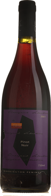 KINGS CREEK WINERY Vineyard Selection Pinot Noir, Mornington Peninsula 2001
