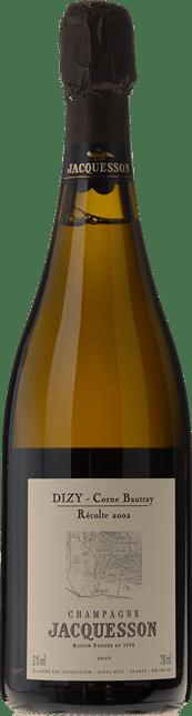 JACQUESSON Dizy Premier Cru Corne Bautray Non Dose Brut, Champagne 2002