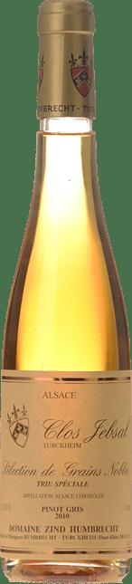 DOMAINE ZIND HUMBRECHT Clos Jebsal Selections de Grains Nobles Trie Speciale Pinot Gris, Turckheim 2010