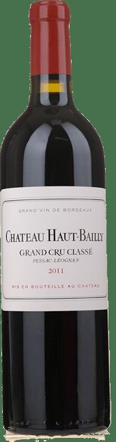 CHATEAU HAUT-BAILLY, cru classe, Pessac-Leognan 2011