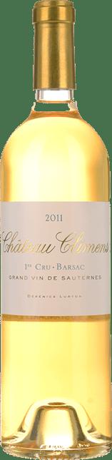 CHATEAU CLIMENS 1er cru classe, Sauternes-Barsac 2011